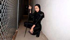 Naughty Ninja Nubile - Kimberly Chi
